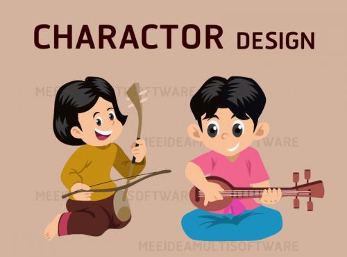 Character Design. ออกแบบตัวการ์ตูน, ออกแบบคาแรคเตอร์การ์ตูน